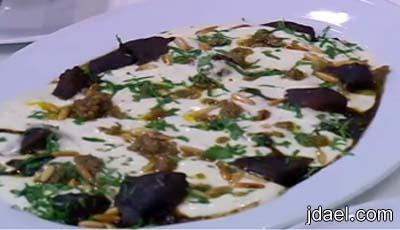 قطع اللحم بالزبادي والكزبره بطعم حامض المطبخ المصري