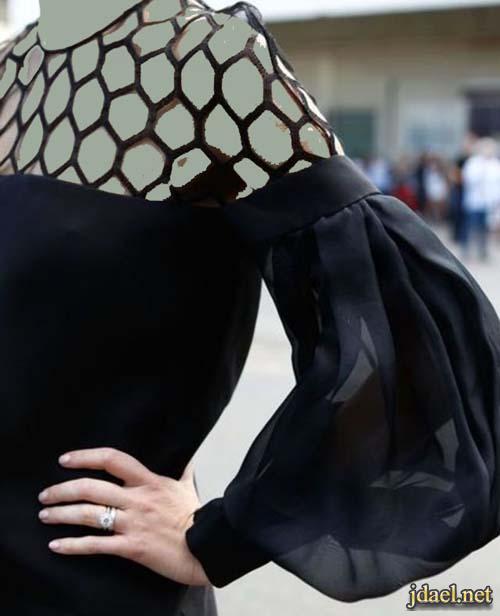 اكمام بلايز وفساتين روعة بموديلات البالون موضة السبعينات
