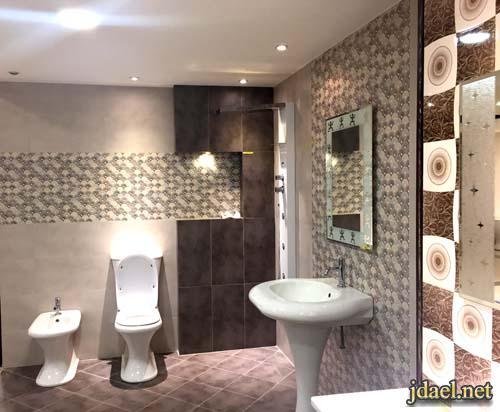 حمامات ومغاسل الميرو وسيراميك جدران وارضيات اماراتي