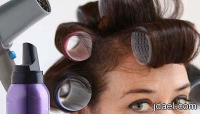 حلول ونصائح لاخفاء الشعر الابيض او الشيب تلوين جذور الشعر ببدائل غير الصبغه