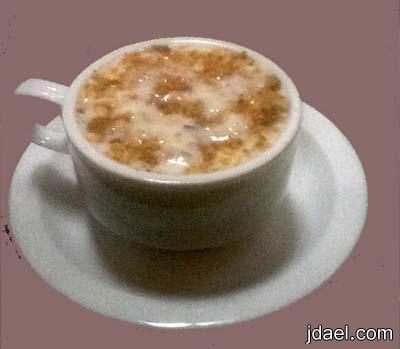 قهوة اللوز الحلوه للمناسبات السعيده السعوديه