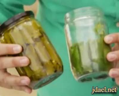 مقبلات لبناني شهية بزيت الزيتون ورق عنب محشي بالجبنه والجوز