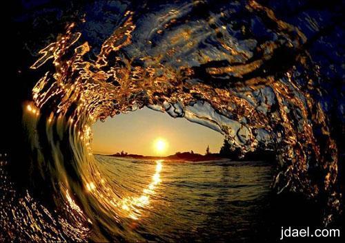 مناظر لامواج البحر العاليه صور جمليه متحركه