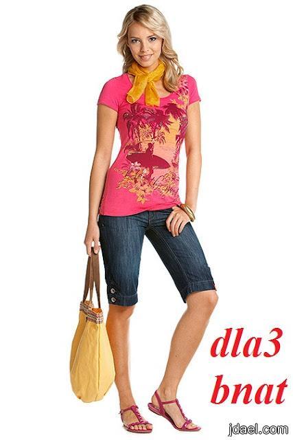 ملابس بنات لعام 2012 اشيك موديلات البلوزات للصبايا