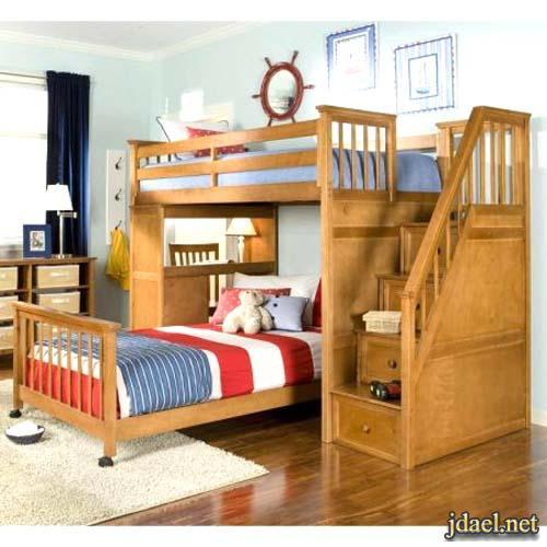 ديكورغرف نوم بافكار ذكيه تساهم في اتساع وجمال مساحة الغرفه