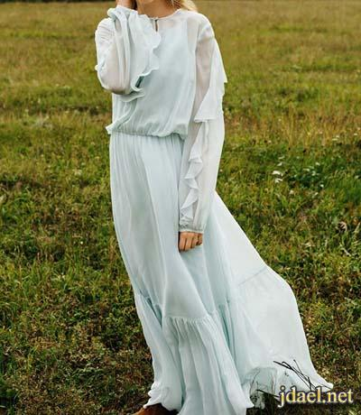 ملابس وازياء الصيف بالوان الباستيل باحلى القصات والتطريز للبنات