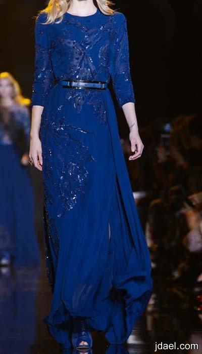 ملابس وفساتين سهره بتوقيع المصمم العالمي ايلي صعب