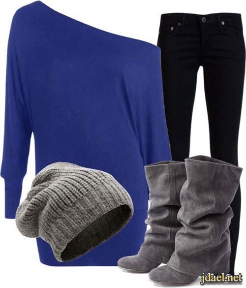 ملابس شتويه روعه لاناقة الشتاء للبنات واحلى كولكشن