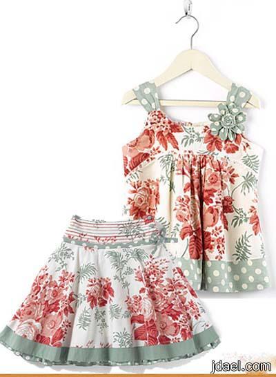 اجمل ملابس البنوتات موديلات فساتين وتنانير للبنوته ازياء نايس لعيد