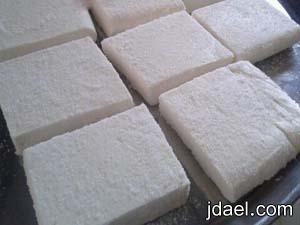 طريقة عمل الجبن البيت بخطوات سهله ونظافه مضمونه يدك