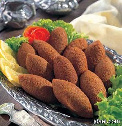 طريقة عمل الكبه باللحم المفروم والدجاج المطبخ السوري بالصور