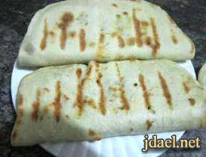 طريقة عمل خبز الشاورما بعجينه بيتي بيدك