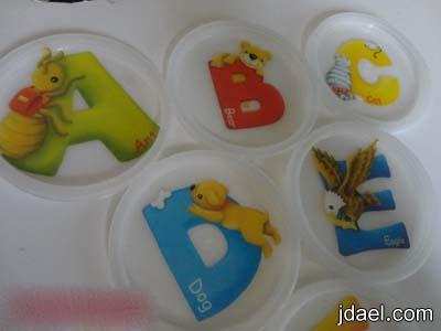 استغلال الاغطيه البلاستيك للعلب اعمال فنيه لتنمية مهارات الاطفال