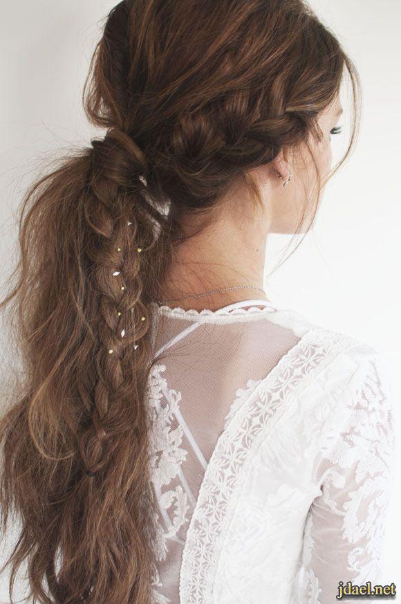 تساريح جدايل ناعمة تسريحات شعر طويل