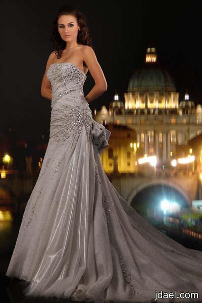 فساتين زفاف من تصميم المصمم عبد محفوظ مجموعه موديلات لفستان العروسه