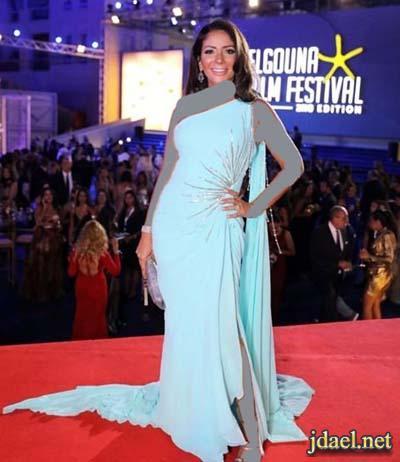 اناقة فساتين نجمات الفن العربي مهرجان الجونة السينمائي