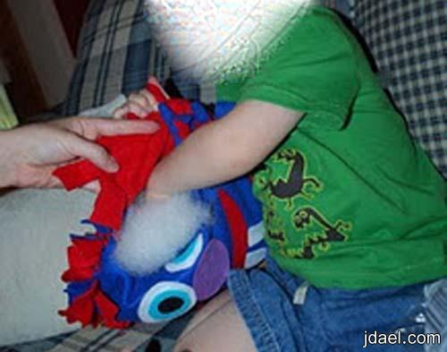خطوات عمل خداديات لغرف نوم الاطفال تزيين تكايات غرفة الطفل