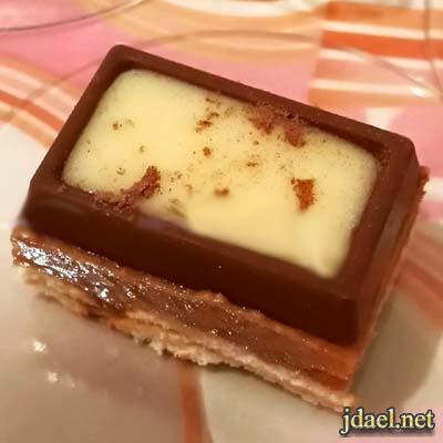 حلى قهوة حلو شوكولاتة اولكر بطبقات منوعة حلا سهل وغير مكلف