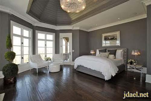 دهانات جدران الشقق والبيوت ودرجات اللون الرصاصي والرمادي