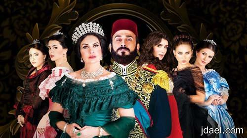 فساتين فخمه بالدانتيل والتفتا لمشاهير السينما العربيه واناقة اميرات سرايا
