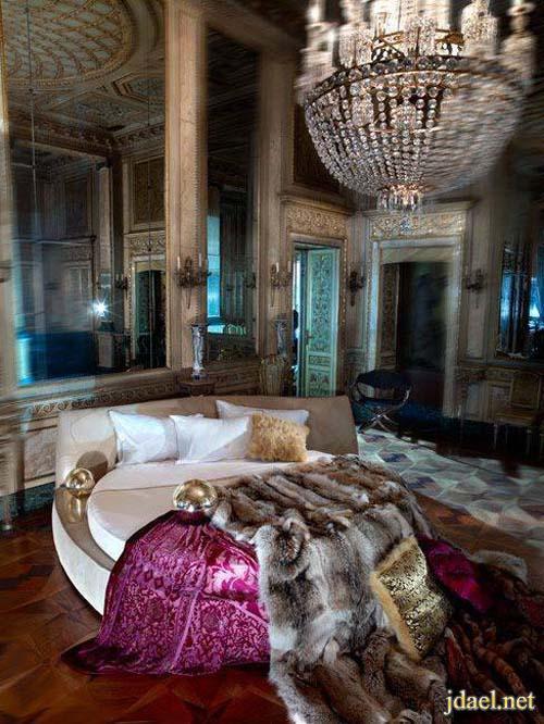 ديكور غرف نوم راقيه للعروسان بتصاميم عالميه