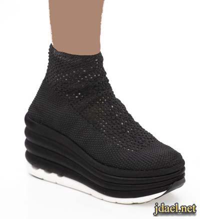 احذية وصنادل ماركات انيقة بالكعب العالي والمربع والفلات للبنات