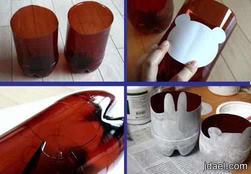 ابتكارات يدويه قوارير البيبسي والعصيرات البلاستك
