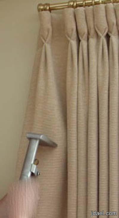 خطوات تنظيف الستائر البيت طريقة تنظيف ستائر الدانتيل غرف الاستقبال