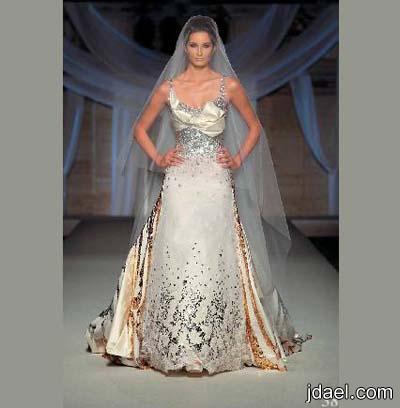 فساتين زفاف لاجمل عروسه للمصمم زياد أنطوان