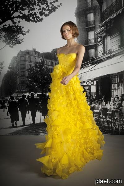 احلى فساتين ريم عكرا مصممة الأزياء العالمية