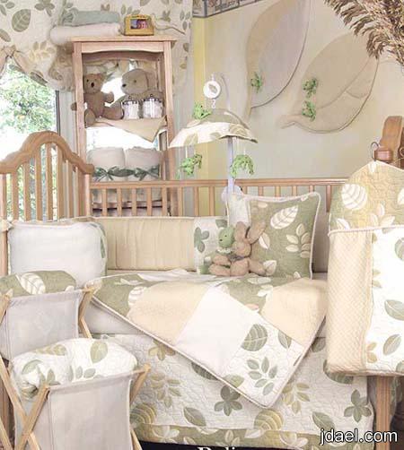 صور غرف نوم اطفال بالوان ناعمة