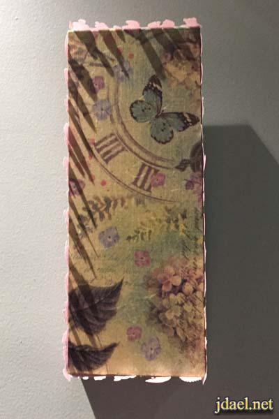براويز خشب من الواح الخشب المهملة وعمل رسمات بالديكوباج عليها