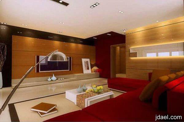 ديكورات بأفكار راقية لغرف المعيشة وتصاميم تناسب العصر