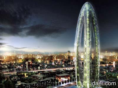 تصميم حقيقي لناطحة سحاب تخلص تايوان تلوث البيئه
