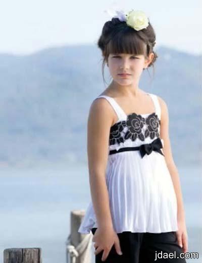ملابس راقيه لمناسبات الصيف للبنوتات وانعم فساتين وبلايز للبنات الاطفال