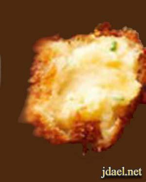 كفتة بطاطس بجبنة كيري كرات البطاطس بجبن الكيري