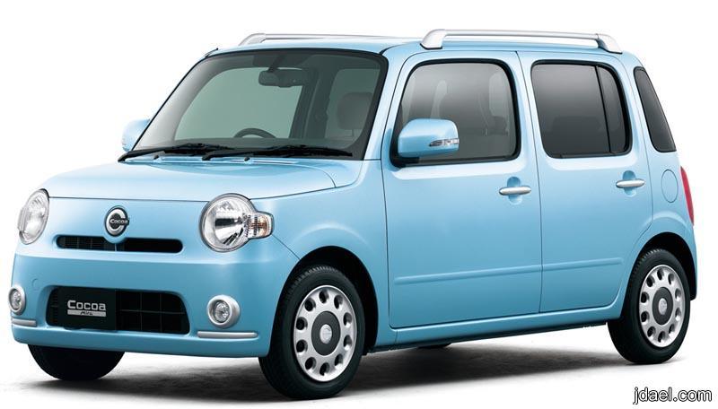 صور السيارة الجديدة دايهاتسو ميرا كاكاو Daihatsu Mira Cocoa