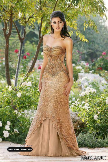 فستان السهره واحلى طله جديد الفساتين ازياء للسهرات