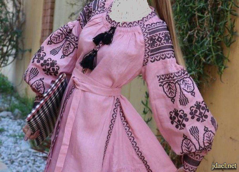 موديلات العباية والفساتين والبلوزات الغجرية المريحة