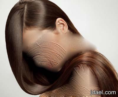 خلطة الافوكادو والزبادي لتنعيم الشعر العادي والجاف فقط بالصور