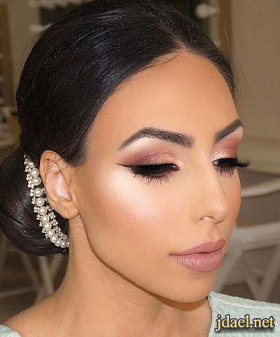 مكياج وتسريحات شعر عروسة 2018 بجديد الموضة