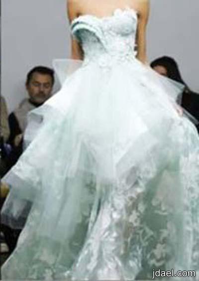 اخر تصاميم فساتين الزفاف للعروسه للمصمم طوني يعقوب لربيع وصيف 2014