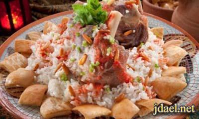 فتة لحم ضاني للمبتدئات واحلى طبخ عيد الاضحى المبارك
