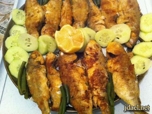 سمك مقلي بطريقة مميزة المطبخ المغربي