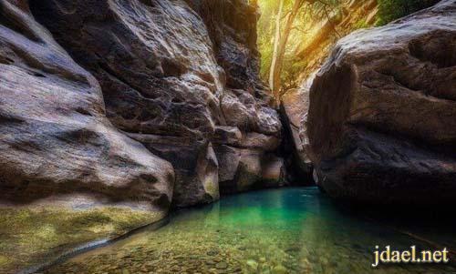 سياحة مميزة في وادي لجب في منطقة جازان في السعودية