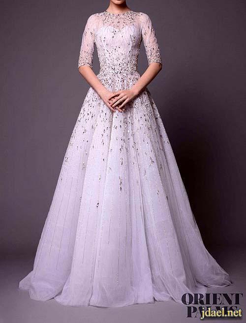 فساتين عروسة 2018 ليلة الزفاف بالدانتيل مصمم الازياء راني زاخم