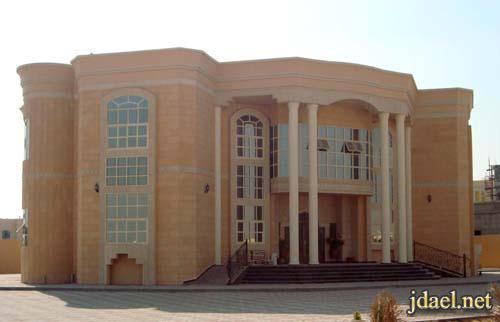 تصاميم واجهات بيوت خليجيه وفلل فخمه الخليج