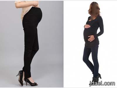 ازياء الشتاء للحامل بفترة الحمل الشهر الاول للتاسع