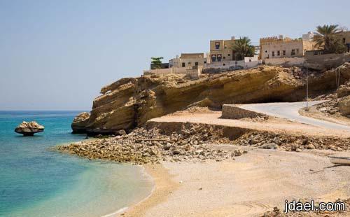 سياحه بين الطبيعه الساحليه الجبليه وادي شاب بسلطنة عمان