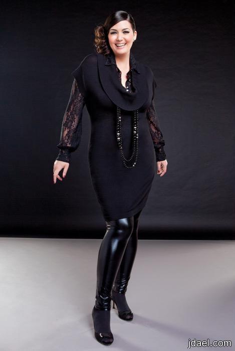 ازياء للسمينات تشكيلات أزياء للبدينات ملابس وموديلات للممتلئات